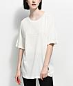PUMA Fusion camiseta blanca alargada
