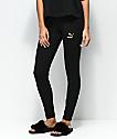 PUMA Glam Black & Gold Leggings