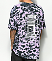 PUMA Logo Tower Purple Tie Dye T-Shirt