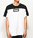 PUMA Rebel Block Black & White T-Shirt