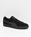 PUMA Suede Classic+ All Black Shoes