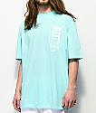 PUMA Tower Logo camiseta en azul claro