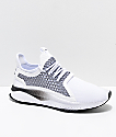 PUMA Tsugi Netfit V2 Black & White Shoes