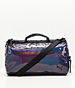 PUMA Uppercut Iridescent & Black Duffle Bag