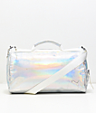 PUMA Uppercut bolso de viaje iridiscente y pastel