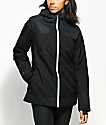 PWDR ROOM Heartland 10K chaqueta de snowboard negra