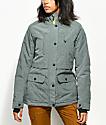 PWDR ROOM Spirit 7K chaqueta de snowboard verde