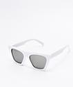 Paloma gafas de sol blancas de ojo de gato