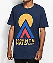 Parks Project CO Rocky Mountain Hut Hut Kike Navy T-Shirt