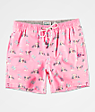 Party Pants Hammertime Pink Board Shorts