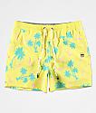 Party Pants Testarossa Yellow Board Shorts