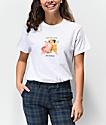 Petals & Peacocks Good Intentions Cherub White T-Shirt