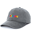 Petals & Peacocks Mood Swings Black Wash Baseball Hat