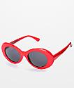 Petals & Peacocks Nevermind Red Sunglasses