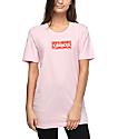 Petals & Peacocks Organized Chaos Light Pink T-Shirt