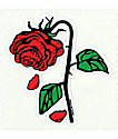 Petals & Peacocks Petal Rose Sticker