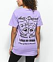 Petals by Petals & Peacocks Anti Drama Club Lavender T-Shirt
