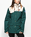 Picture Organic Kate 10K chaqueta de snowboard esmeralda