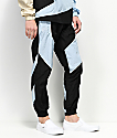 Pink Dolphin Wave Crew Swish Black Track Pants