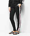 Pink Dolphin Wavesport Black Track Pants