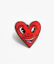 Pintrill Keith Haring Heart Pin