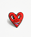 Pintrill Keith Haring Heart broche