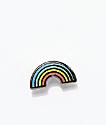 Pintrill broche de esmalte de mini arcoíris