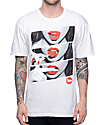 Popular Demand Candy Lips White & Red T-Shirt