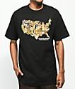Pork & Beans American Girl Black T-Shirt
