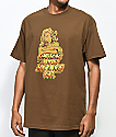 Pork & Beans River Bunny Brown T-Shirt