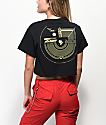 Post Malone Black Crop T-Shirt