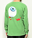 Post Malone Candy Paint Green Long Sleeve T-Shirt