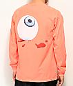 Post Malone Candy Paint Orange Long Sleeve T-Shirt