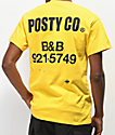 Post Malone Label Yellow T-Shirt