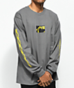 Post Malone Rockstar camiseta de manga larga en gris oscuro