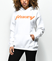 Post Malone Stoney White & Orange Hoodie