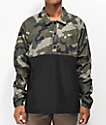 Primitive Black & Camo Anorak Coaches Jacket