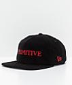 Primitive Black Magic Black Corduroy Snapback Hat