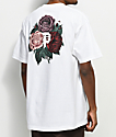 Primitive Bloom camiseta blanca