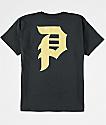 Primitive Boys Dirty P Black & Gold T-Shirt