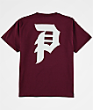 Primitive Boys Dirty P Burgundy T-Shirt