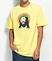 Primitive Crown Of Throwns Yellow T-Shirt