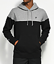 Primitive Dirty P Blocked Grey & Black Hoodie