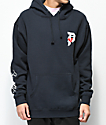 Primitive Dirty P Crush sudadera con capucha en azul marino