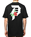 Primitive Dirty P Dos Flores Black T-Shirt