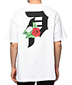 Primitive Dirty P Dos Flores camiseta blanca