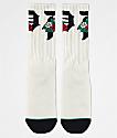 Primitive Dos Flores calcetines blancos
