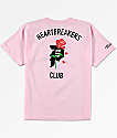 Primitive Heartbreak camiseta rosa para niños