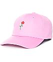 Primitive Heartbreakers Pink Strapback Hat