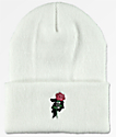 Primitive Heartbreakers White Beanie